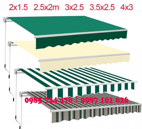 Manual Retractable Awning VS Auto Retractable Awning