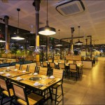 Thiết kế & thi công Mái Xếp tại nhà hàng SEN Hồ Tây