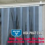Tăng khả năng phòng, chống dịch Covid với buồng khử khuẩn di động bằng rèm nhựa PVC