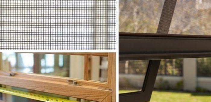 Hướng dẫn cách thay dây cửa lưới chống muỗi đơn giản tại nhà