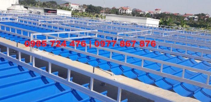 Thi Công Lắp Đặt Mái Xếp Phú Thành Tại Hà Nội