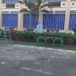 Lắp Đặt Bạt Che Nắng Mưa Trường Học ở Hà Nội, Hải Phòng, Quảng Ninh