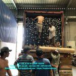 Bảng báo giá bạt che nắng mưa, bạt nhựa PVC, bạt che công trình tại Lào Cai